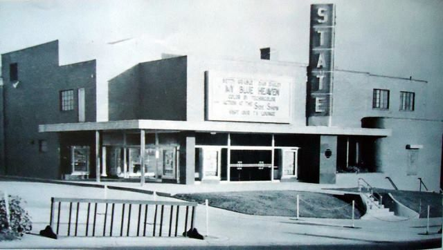 Old Loews Theater on State Rd - picture posted on Facebook by Pen Pittinger.