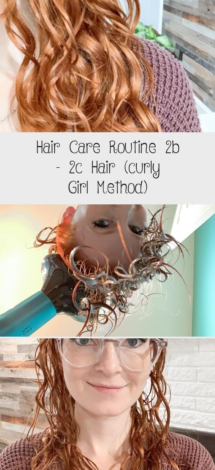 Hair Care Routine 2b 2c Hair (curly Girl Method Hair