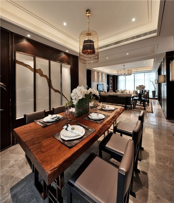Gorgeous 20 Harmonious Asian Inspired Dining Room Designs Check More At