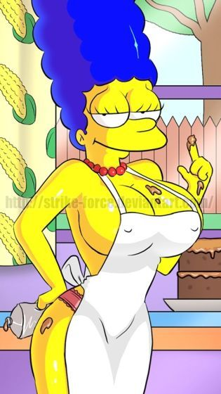 simpson nackt Marge