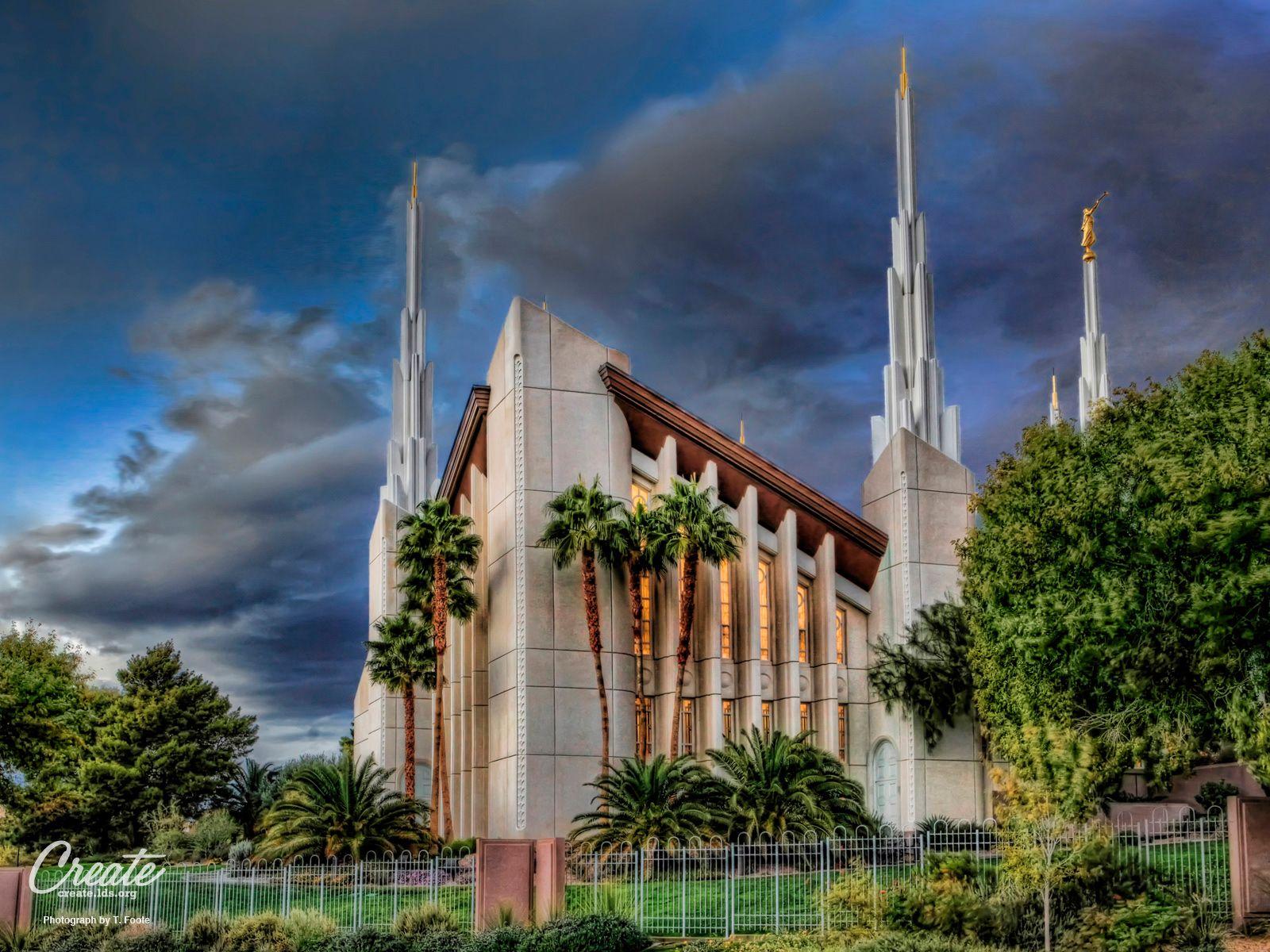 Las Vegas Nevada LDS Temple Wallpaper Find It At Createldsorg