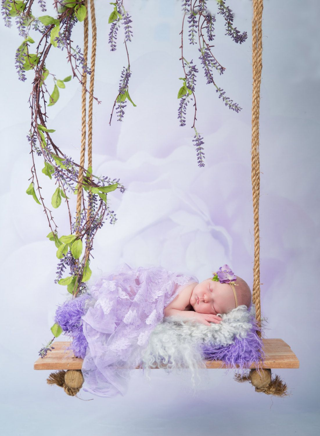 Baby swing digital backdrop for newborn photography newborn digital backdrop instant download wooden swing for newborn by svitlanavronskaart on etsy