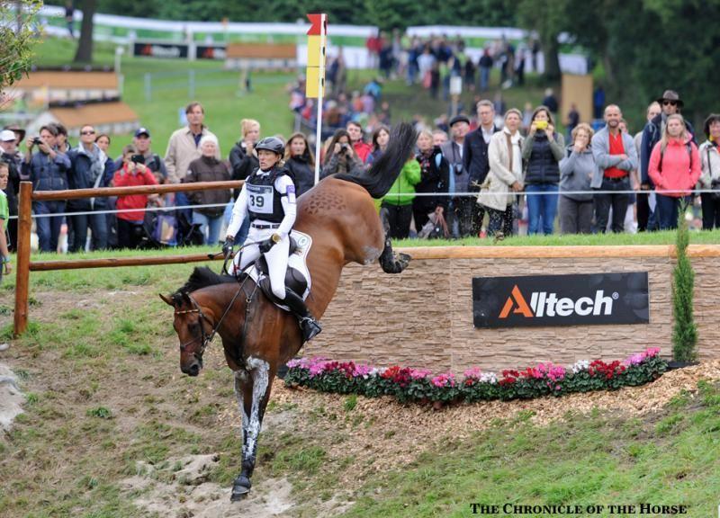 Clayton Fredericks and Pigrela Des Cabanes   Equestrian