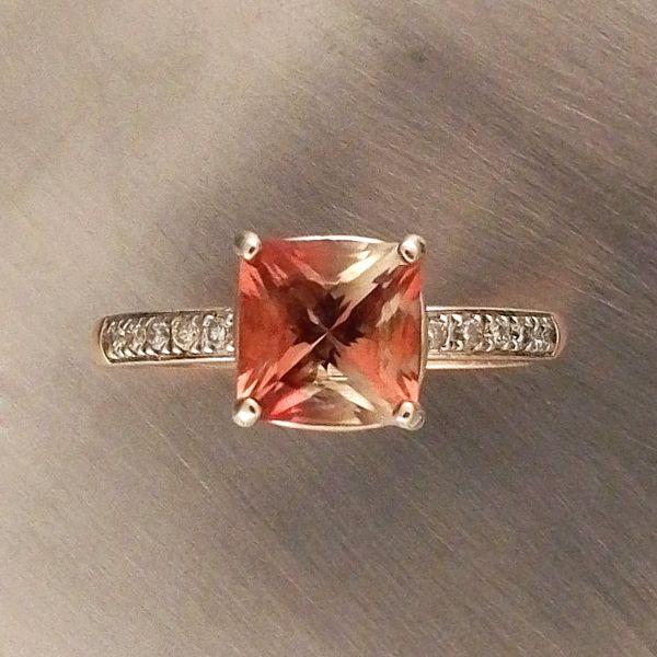 Oregon Sunstone Engagement Ring Douglas Fine Jewelry Design