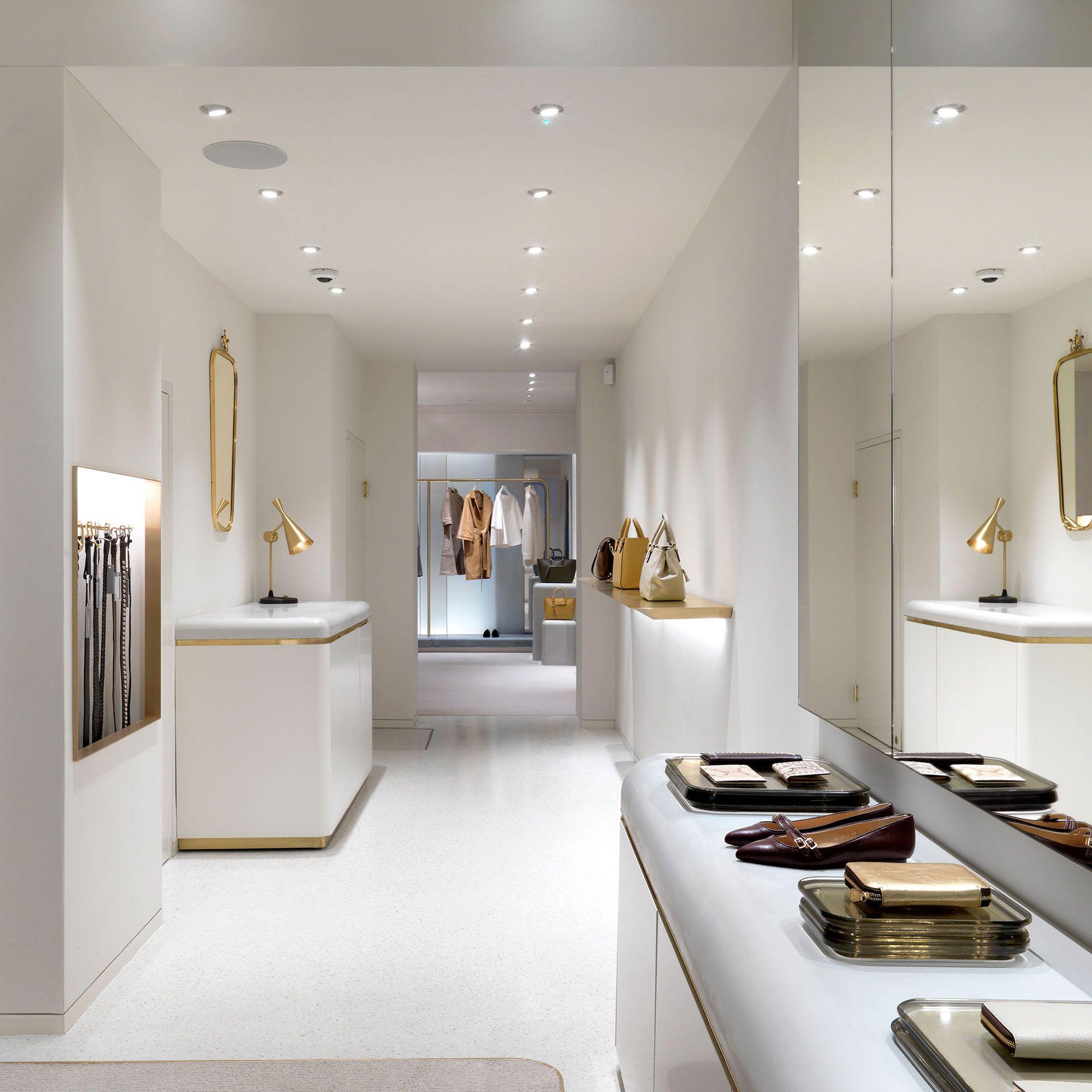 J M Davidson Showroom Interior Design Retail Interior Design Design Studio London
