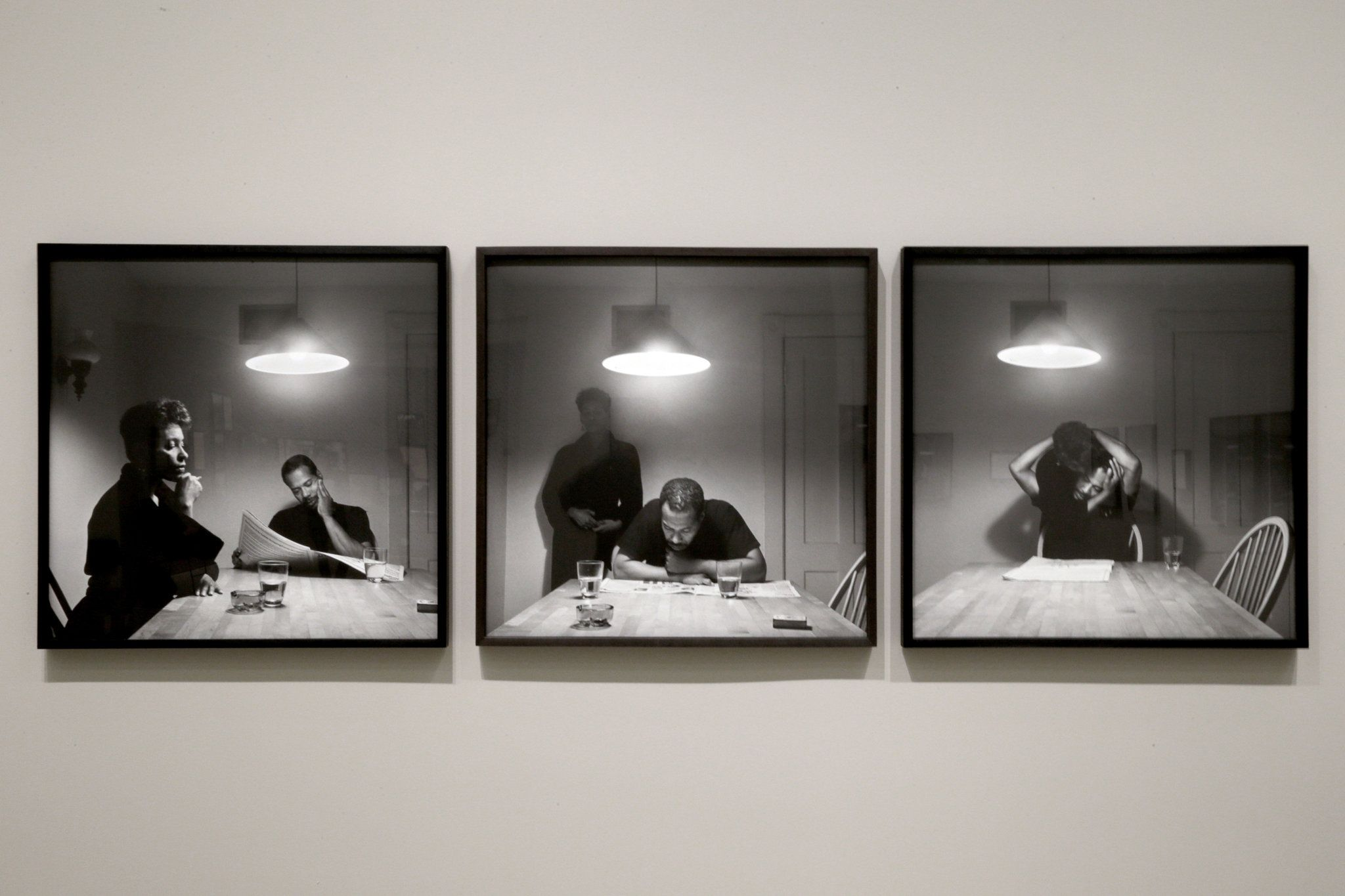 Carrie Mae Weems Kitchen Table Series Carrie mae weems kitchen table series untitled man reading carrie mae weems kitchen table series untitled man reading newspaper 1990 workwithnaturefo