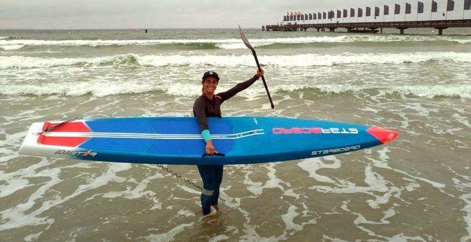 Notre championne Olivia Piana remporte l'EuroTour | Stand up paddle passion, le web magazine du sup.