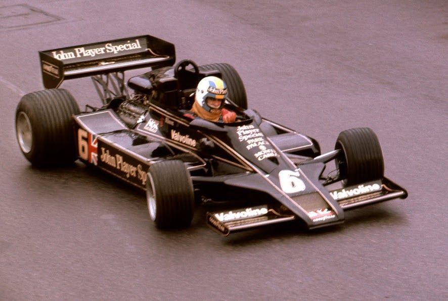 Gunnar Nilsson (SWE) (John Player Team Lotus), Lotus 78 - Cosworth V8 (RET) 1977 Monaco Grand Prix, Circuit de Monaco