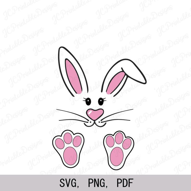 Bunny Svg Easter Bunny Svg Easter Rabbit Svg Etsy In 2021 Easter Bunny Template Bunny Svg Easter Drawings