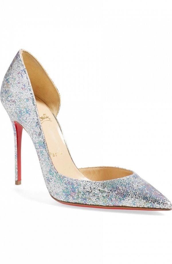 san francisco b489f a2416 Christian Louboutin Iriza Half d'Orsay Pumps   Wedding Shoes ...