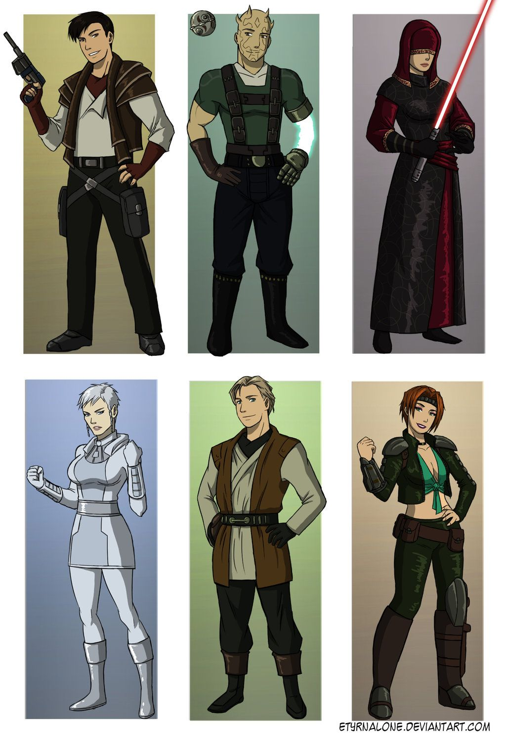 Star Wars The Old Republic 2 : republic, Characters