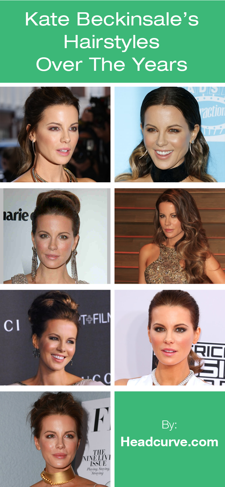 Kate beckinsaleus hairstyles over the years long hairstyles for