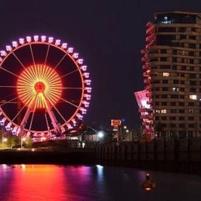 Beschreibe deinen Pin ...Hamburg HafenCity, Steiger Riesenrad.