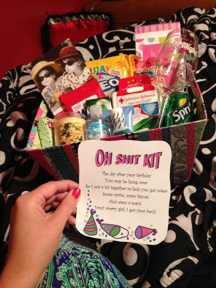 oh shitt kit 21st birthday ideas Pinterest 21st birthday