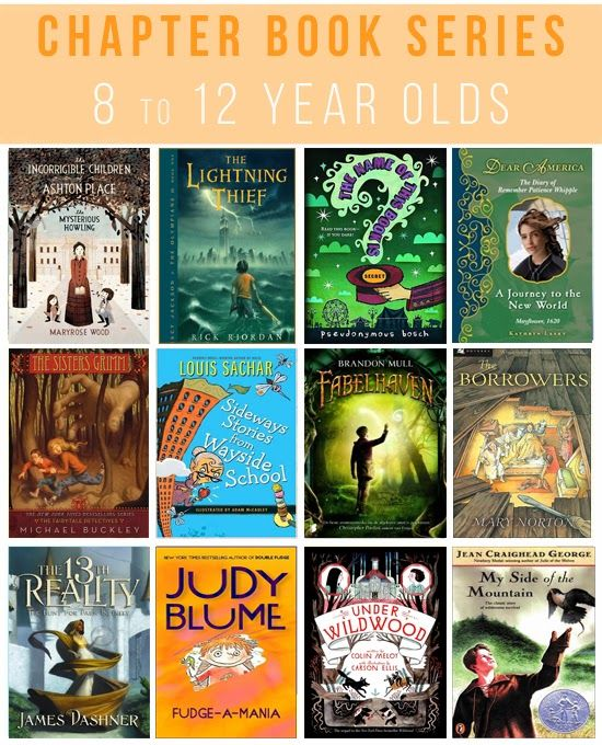 25 Great Chapter Book Series For 8 To 12 Year Olds Chapter Books