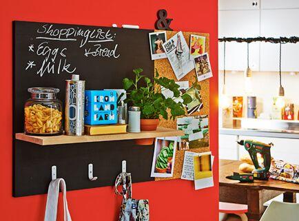 Organiseur mural et panneau du0027affichage à faire soi-même - bricolage a la maison