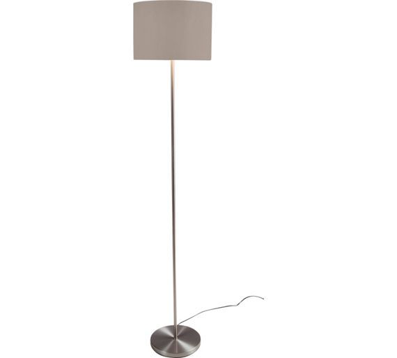 Buy ColourMatch Satin Stick Floor Lamp - Cafe Mocha at Argos.co.uk ...