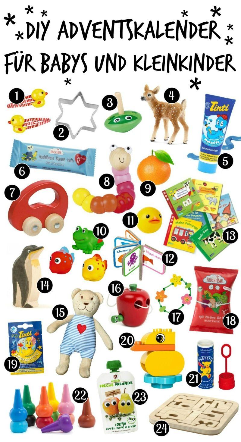 DIY Adventskalender für Babys und Kleinkinder selber machen ...