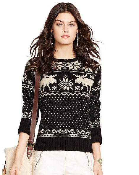 3 this Ralph Lauren snowflake fair isle sweater | My Style ...