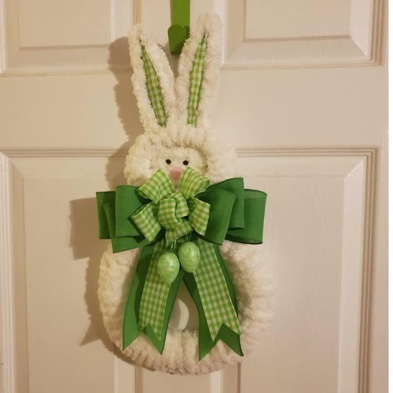 Easter Wreath  Bunny Wreath