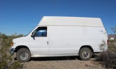 Cheri Found This Nice Used Ford High Top Extended Cargo Van On Craigslist And Turned It Into Something Very Special Van Camper Van Camper
