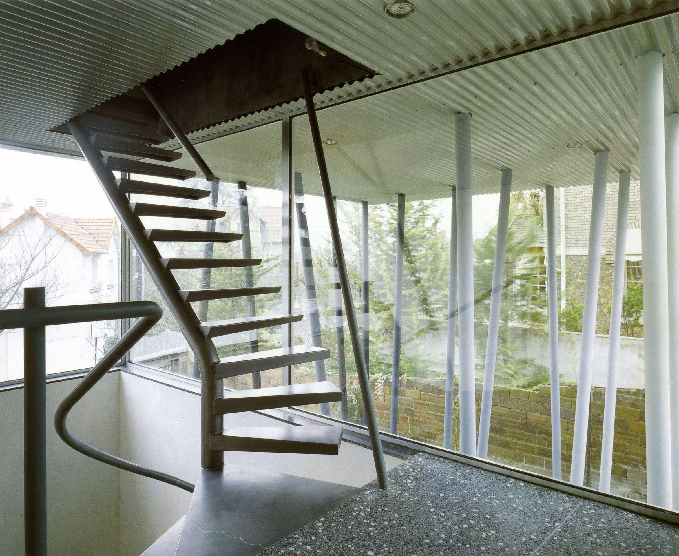 Rem koolhaas villa dall ava paris france 1991 atlas of - Villa Dall Ava West Google Arquitectura H Pinterest Rem Koolhaas And Architecture