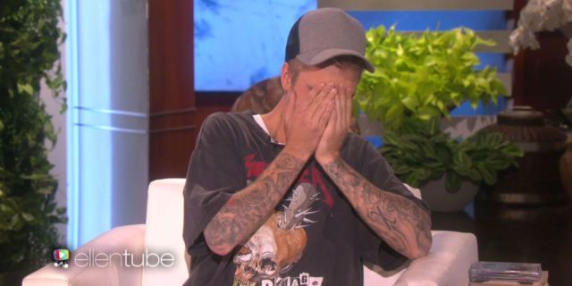 Justin Bieber Can't Stop Blushing Talking About His Maybe-Girlfriend  - HarpersBAZAAR.com