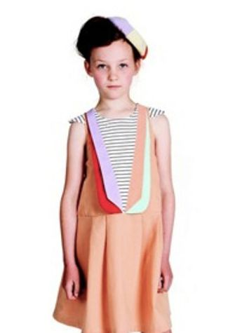 6d7d42552ae50 Lapel Pinafore Dress | Amazing Children's Clothes You Wish Came In Adult  Sizes