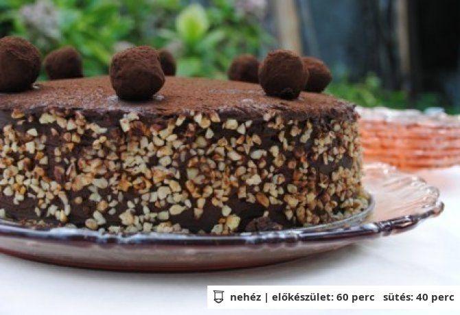 Belga trüffel torta