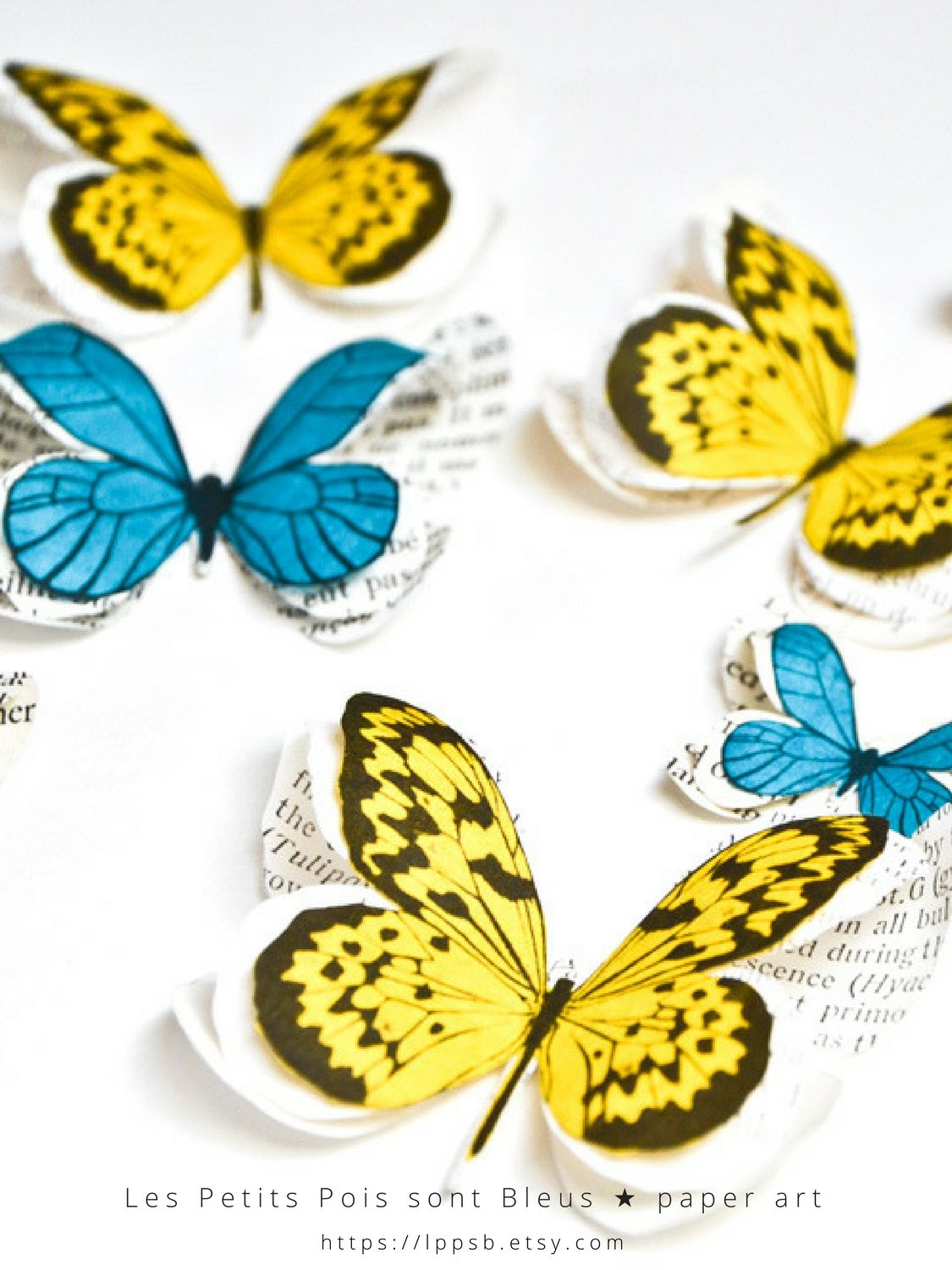 Perfect Butterfly 3d Wall Decor Component - Wall Art Collections ...