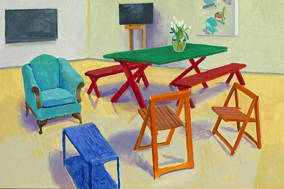 BBC - Get Creative - A new perspective on Hockney's paintings