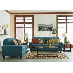 Sagen   Teal   Sofa U0026 Loveseat By Signature Design By Ashley. Get Your  Sagen   Teal   Sofa U0026 Loveseat At Furniture Country, Gainesville FL  Furniture Store.