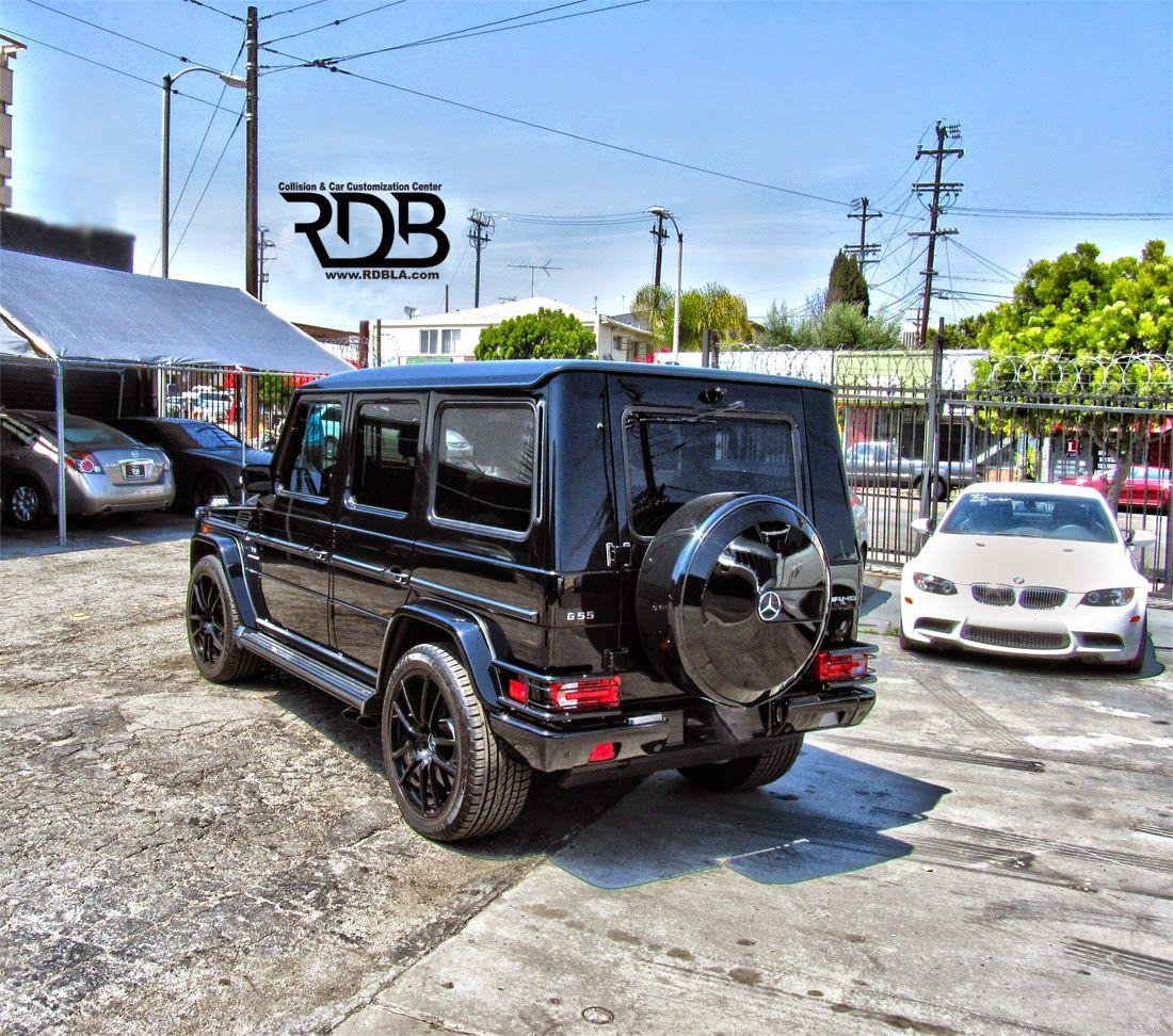Mercedes benz g55 amg black on black benz mercedes benz for Mercedes benz g55 amg price
