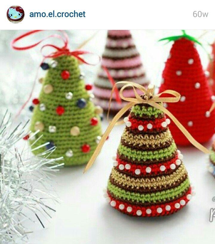 Pin Von Tashat Auf 5 Crochet Cuties Pinterest Weihnachten