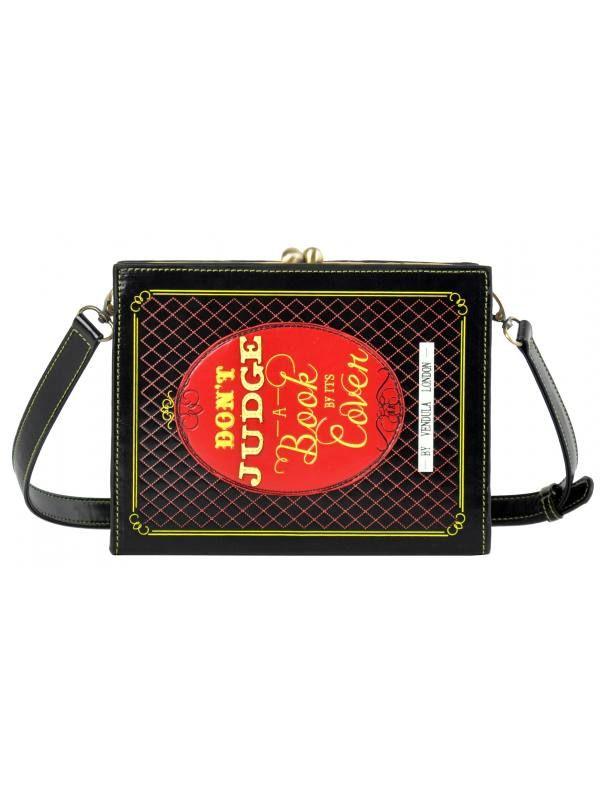 Vendula Large Book Cover Clutch Bag £65 |