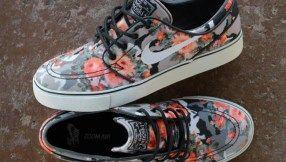 "Nike SB Janoski ""Floral Mandarin Camo"" (Releasing)"