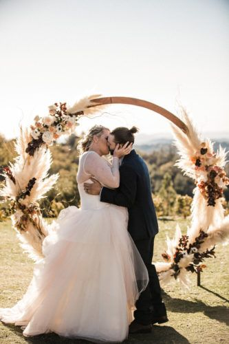 A Lovely Fall Wedding In Julian Ca Venue Sacred Mountain Jessica Derric October 2018 Photographer Tony Wodarck