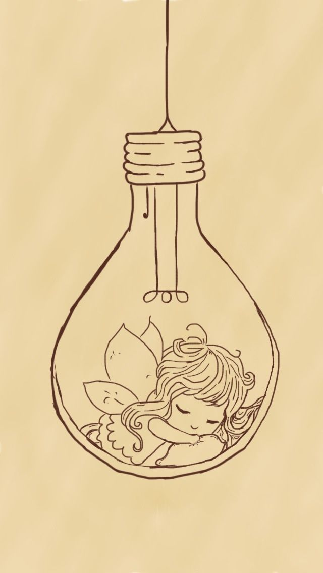 Image Result For Fairy Lights Drawing Drawings Fairy