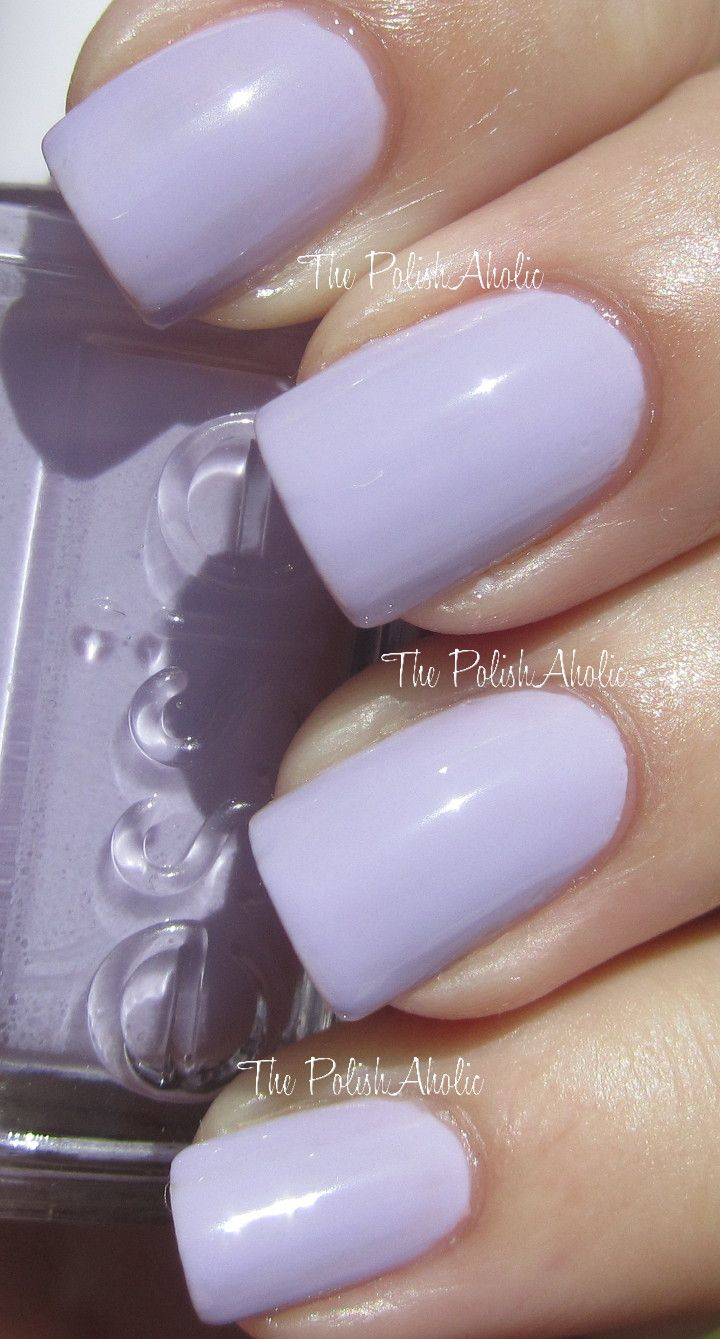 Essie - Lilacism, the other color... this is amazing! This will also ...