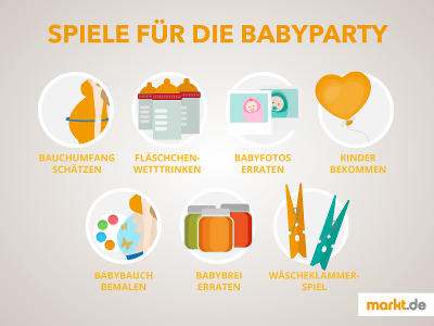 baby party spiele