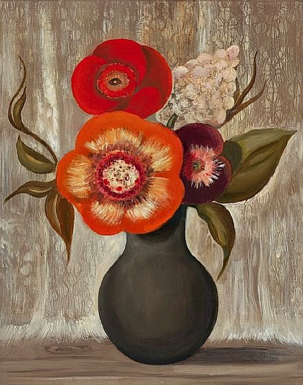 Pin By Robin Lucile Anderson Artist On Floral Art Flower Art Floral Art Flower Painting