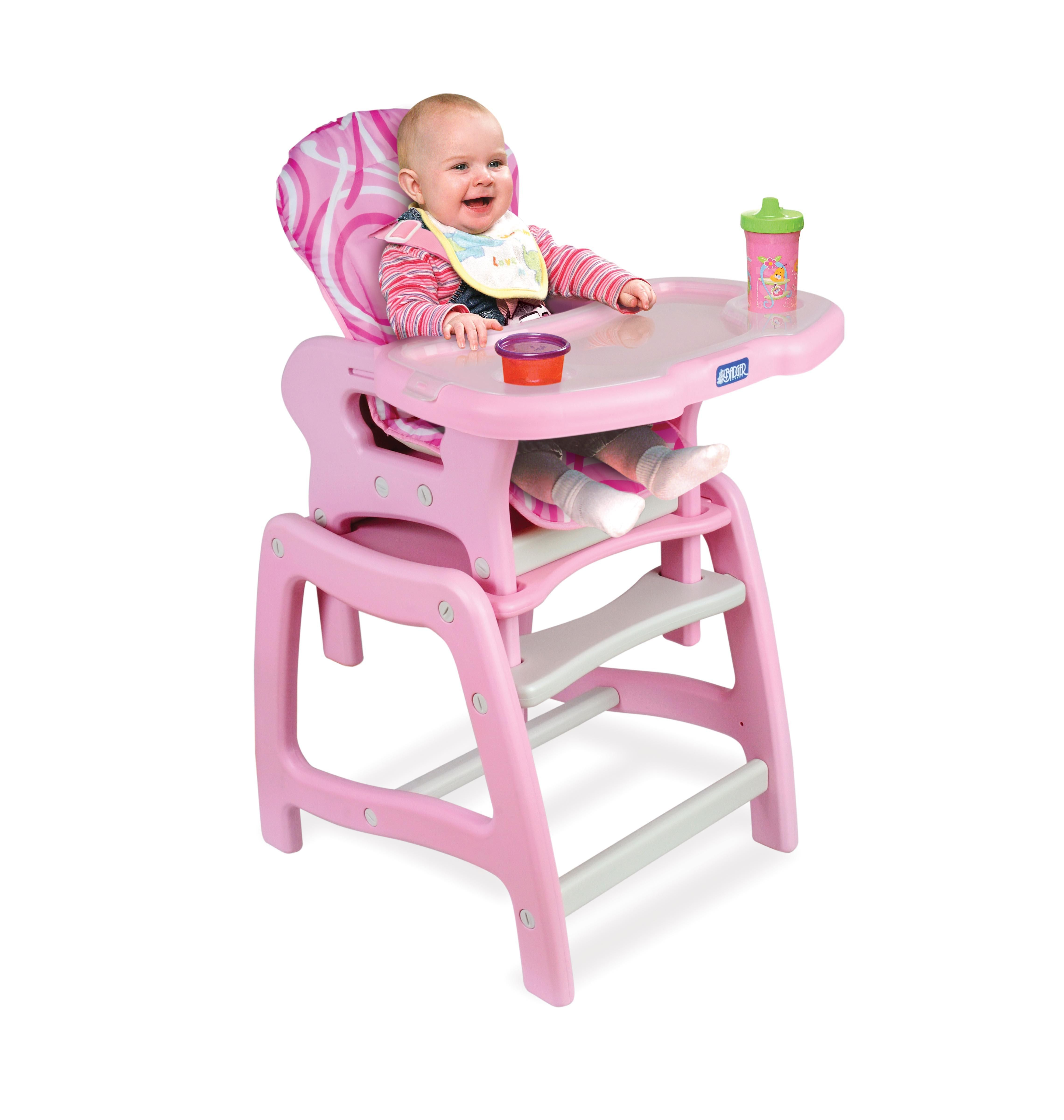 16 cute baby high chairs for boys and girls sweet pink for Cute toddler chairs