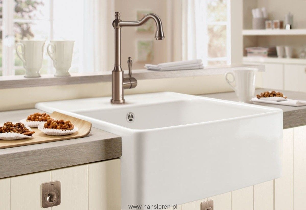 Zlewozmywak Ceramiczny Modulowy V B Kuchenny 60 632061r1 Ceramic Kitchen Sinks Butler Sink White Ceramic Kitchen Sink