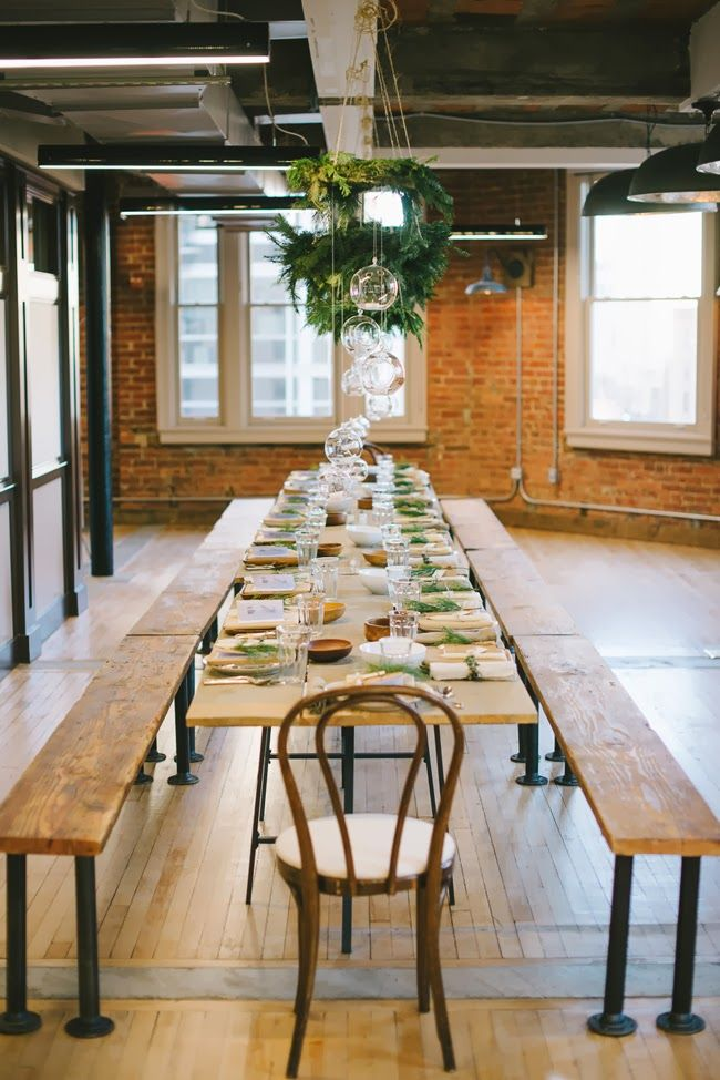 a daily something: Kinfolk Natural Decor Workshop Part II | at The Loft at 600 F in DC