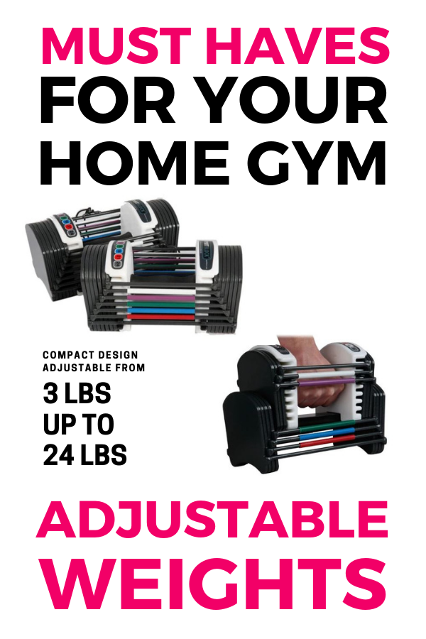 These are the perfect dumbbells for your home gym. You get