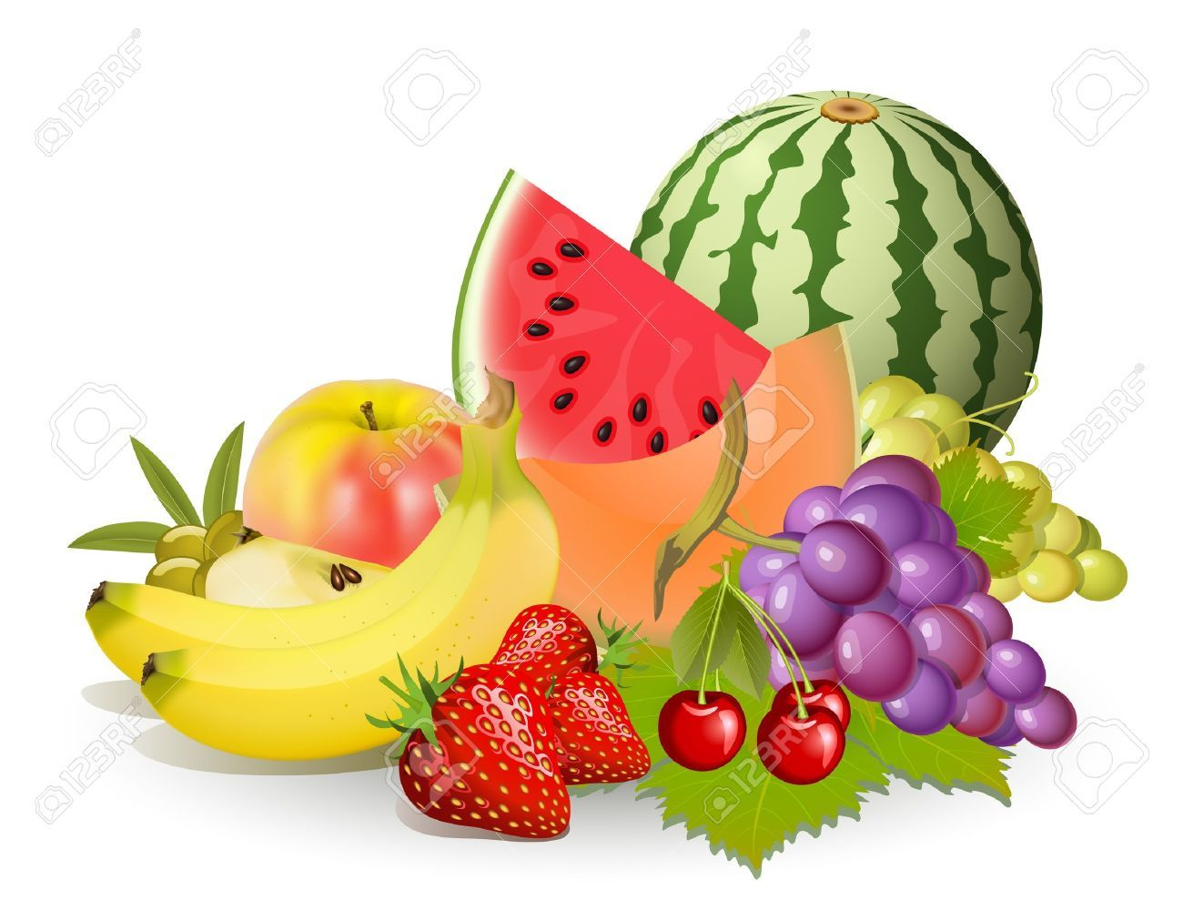 Fruit Food Group Clip Art