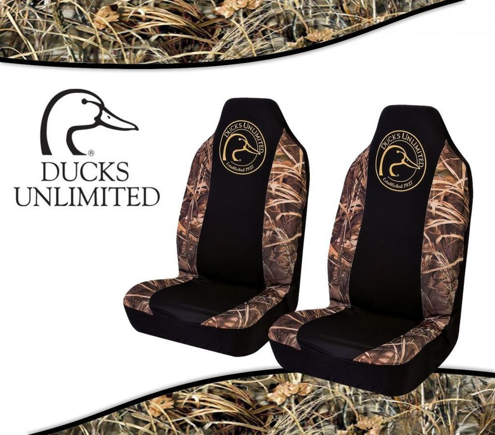 Ducks Unlimited Seat Covers >> Realtree Max4 Camo With Ducks Unlimited Spandex Camo Seat Covers