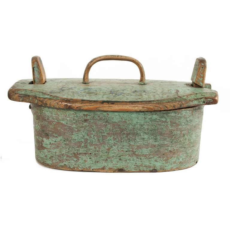 Almoge Lunch Box. Sweden. C. 1800. 1stdibs.