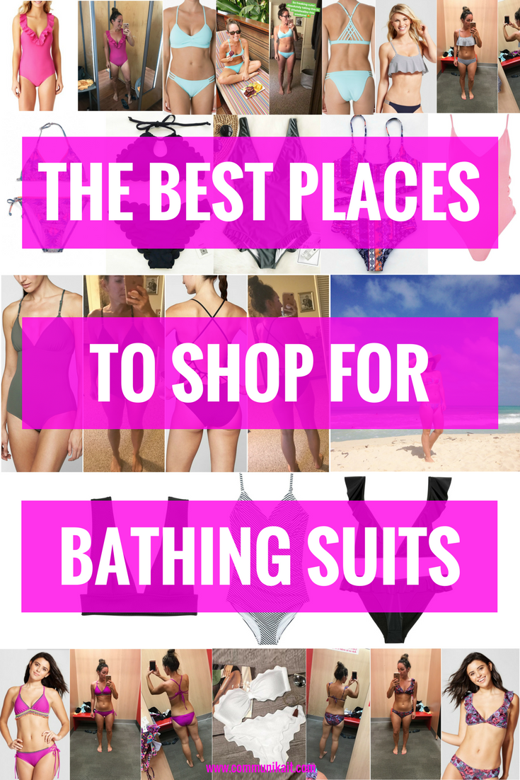 Best Places to Buy Swimsuits | Womens Swimsuit Shopping