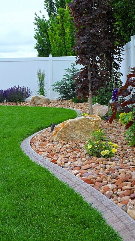 RockScapes | Xeriscaping Ideas | le jardin | Garden yard ideas ... on rock front yard designs, desertscape front yard designs, landscaping front yard designs,